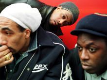 Postmen,een Nederlandse Hiphop band. Postmen, a Dutch Hiphop band.