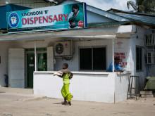Kinondoni B Dispensary in Kinondoni district.