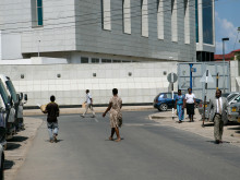 Downtown Dar es Salaam.