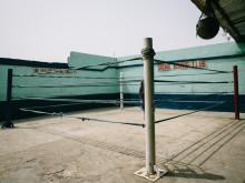 Bronx Boxing Club, de plek waar Richard Commey traint in Bukom.